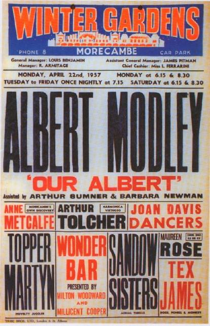 Albert Modley – Sandow family.