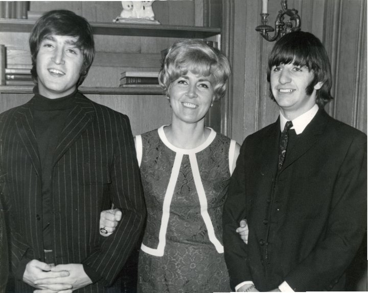 John Lennon and Ringo Starr
