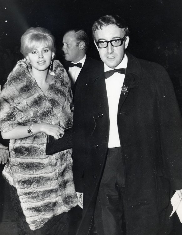 Peter Sellers and Britt Ekland – Adam Faith