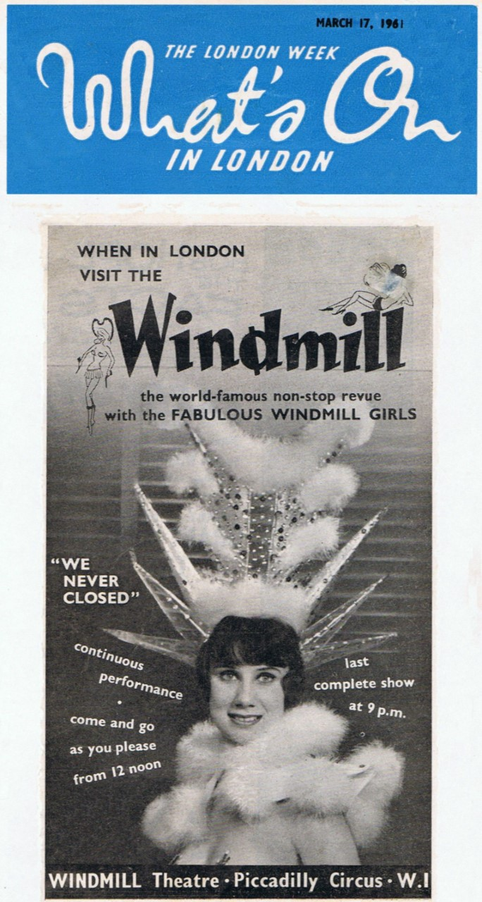 The Windmill Theatre London