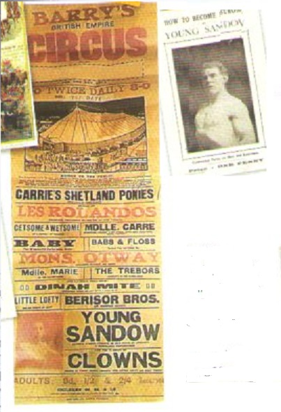 The Sandow Family Circus Variety History – Part One Part Two